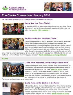 January 2016 Clarke eNewsletter