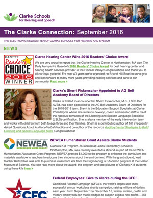 September 2016 Clarke eNewsletter