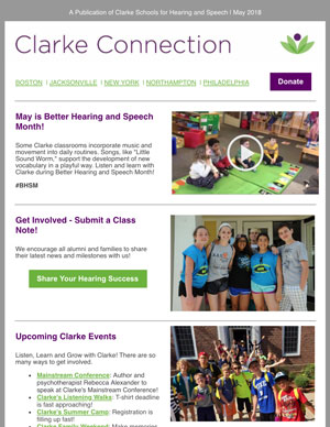 May 2018 Clarke eNewsletter