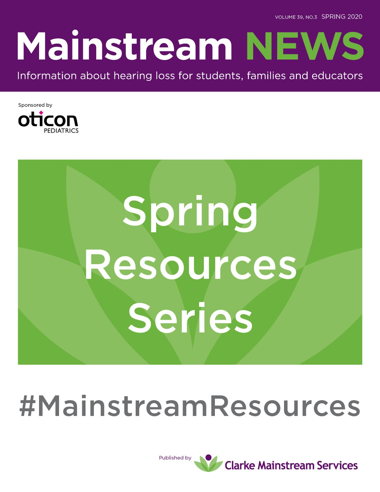Mainstream News Spring Resource Series